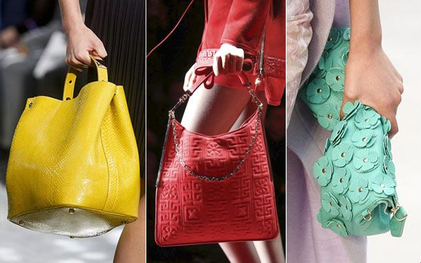 Модные цвета сумок 2017 женские